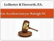 Car Accident Lawyer Raleigh North Carolina