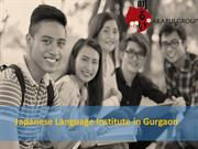 Japanese Languages Course in Gurgaon