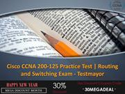 Cisco CCNA 200-125 Practice Exam Questions - Testmayor