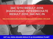 JAC 12th Result 2018, Jharkhand Intermediate Result 2018, jac.nic.in