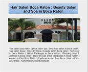 Hair Salon Boca Raton : Beauty Salon and Spa in Boca Raton