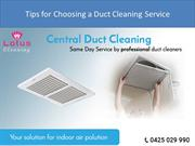 Tips for Choosing a Duct Cleaning Service