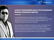 Shamit Khemka's & SynapseIndia offer professional business consulting