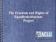 Declaration of Equallyokedtarians - HUMAN RIGHTS - CIVIL RIGHTS - FREE