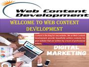Web Content Writing for your Website