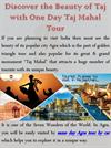 Discover the Beauty of Taj with One Day Taj Mahal Tour