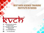 Best Data Science training in Noida