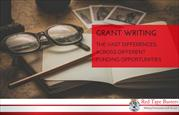 Grant writing – the vast differences across different funding opportun