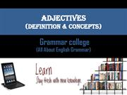 Adjectives - Learn How to Identify Adjective at Grammar College