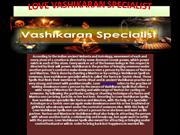 Love Marriage Specialist India