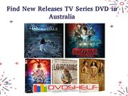 Find New Releases TV Series DVD in Australia