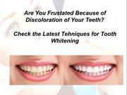 Make Your Smile Beautiful and Attractive with Dentista