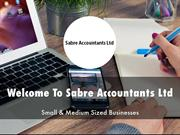 Sabre Accountants Ltd Presentation