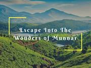 Escape Into The Wonders of Munnar