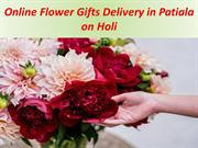 Online Flower Delivery in Patiala on Holi
