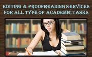 Editing & Proofreading Services for All Type of Academic Tasks