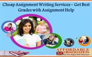 Cheap Assignment Writing Services - Get Best Grades with Assignment He