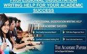 Professional Dissertation Writing Help for Your Academic Success