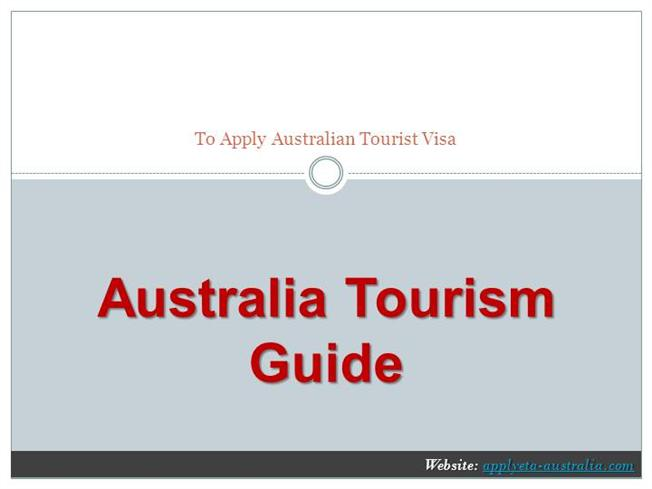 australia tourism guide ppt authorstream