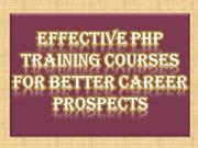 Effective PHP Training Courses for Better Career Prospects