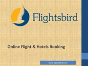 Cheap flights booking online & cheap hotels booking in USA