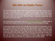 60s hits on radio tunes