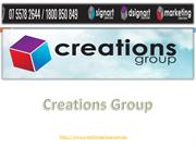 Danger Creations Group Signs