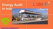 Energy audit in india ppt
