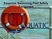 Essential Swimming Pool Safety Equipment