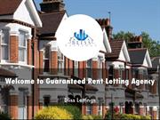 Guaranteed Rent Letting Agency Presentstion