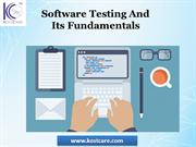 Software Testing Fundamentals | Basics Of Software Testing