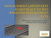 Replacement Laptop Keys – Right Place to Buy Branded Replacement Keys