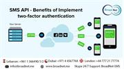 SMS API - Benefits of Implement two-factor authentication