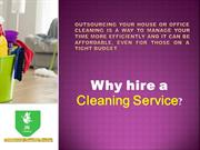Before Hiring a Cleaning Company!!