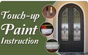 Iron Door Touch Up Paint Repairs from Iron Doors Now!
