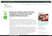 Why you need to hire interior designers to decorate your home