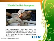 FUE Hairline Clinic Fue Hair Transplant Turkey