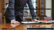Court Marriage Lawyer in Lahore Pakistan