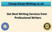 Get Best Writing Services from Professional Writers