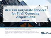 DesFran Corporate Services for Shelf Company Acquisitions