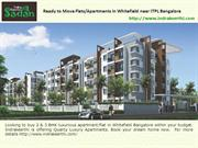 Residential Apartments/Flats for sale in whitefield