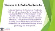 Welcome to S. Pavlou Tae Kwon Do