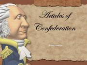 Lesson Plan- Articles of Confederation Ch.2.3