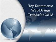 Top Ecommerce Web Design Trends for 2018