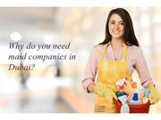 Why do you need maid companies in Dubai | Maids Dubai