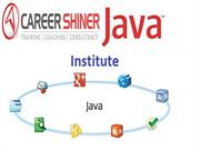 Career Shiner Java training institute in Noida