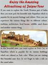 Enjoy the Amazing Attractions of Jaipur Tour