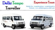 Tempo Traveller Hire, Luxury Tempo Traveller Rent