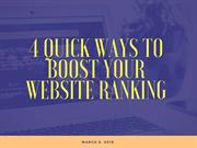 4 Quick Ways to Boost your Website Ranking | Newton Consulting