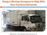Using a Moving Company to Help With Your Furniture Removals